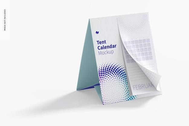Tent kalendermodel