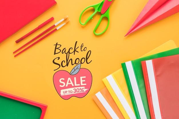 Terug naar school verkoop tot 30% korting
