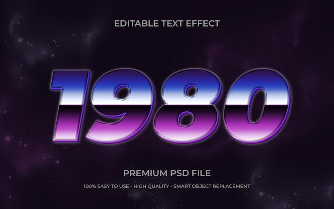Texto editable retro