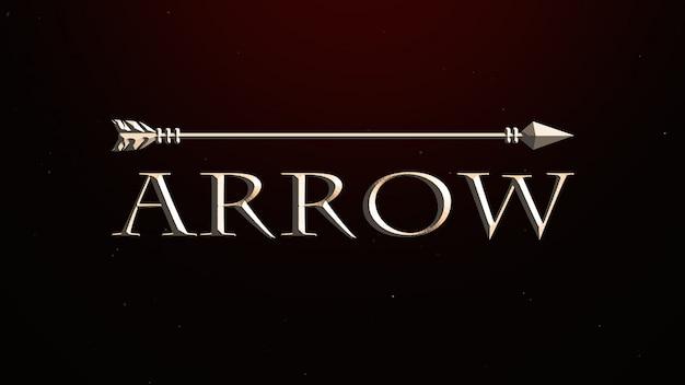 Texto del título cinematográfico con efecto ligeramente dorado y luz cinemática.