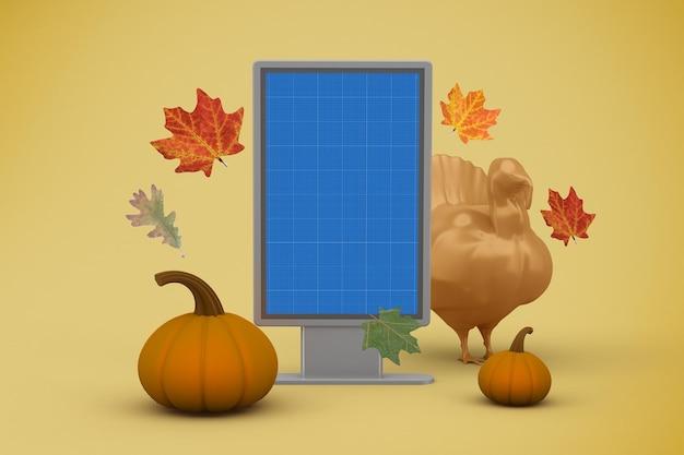 Thanksgiving billboard-mockup