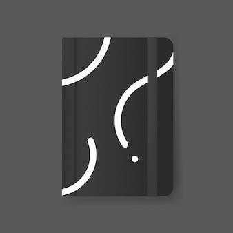 Tijdschrift cover ontwerp mockup