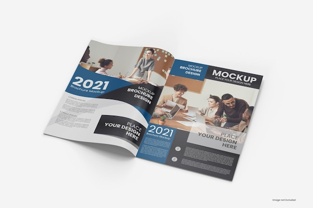 Tijdschrift en brochuremodel a4