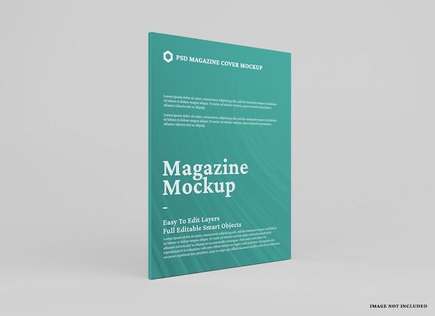 Tijdschrift mockup ontwerp geïsoleerd