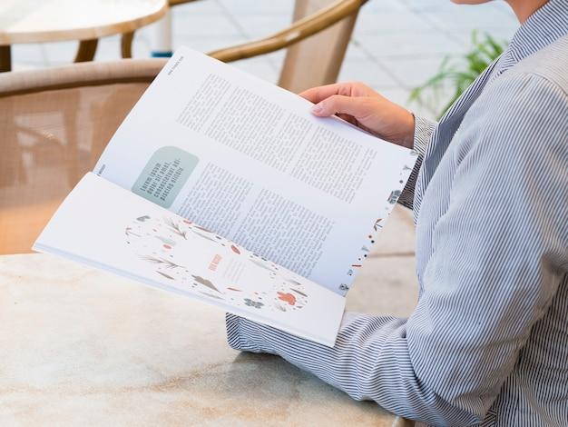 Tijdschriftconcept open model