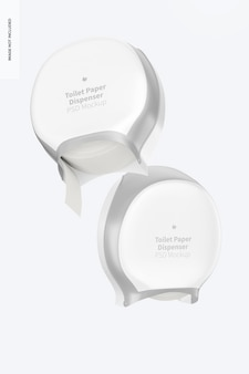 Toiletpapierdispensermodel, drijvend