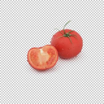 Tomates isométricos