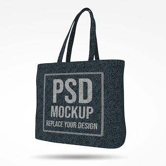 Tote bag 3d-rendering mockup design