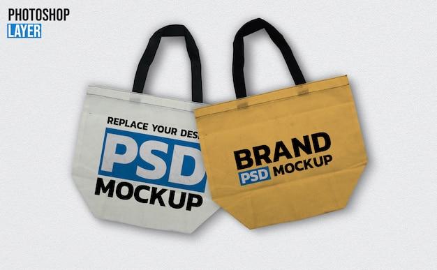 Tote bag mockup design