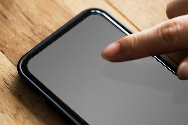 Touchscreenmodel voor mobiele telefoons