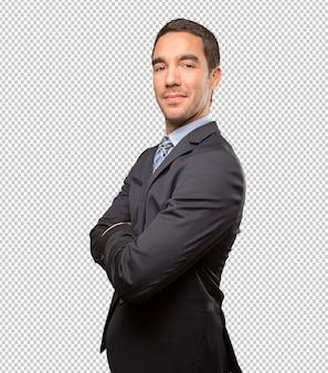 Trabajo estilo de vida hombre joven ejecutivo persona