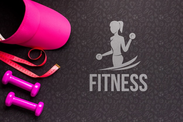 Training fitnessapparatuur