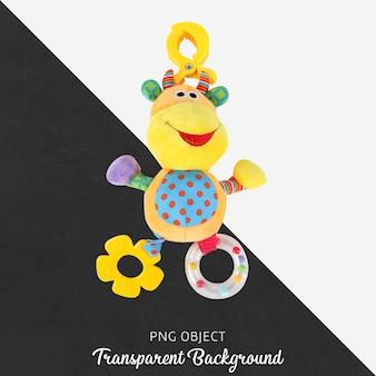 Transparant bijtring pelush speelgoed