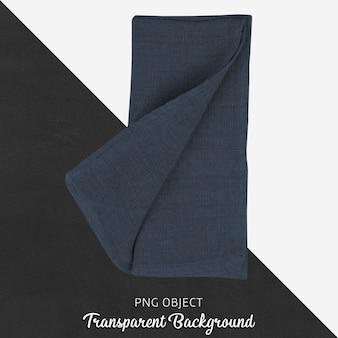 Transparant marineblauw linnen