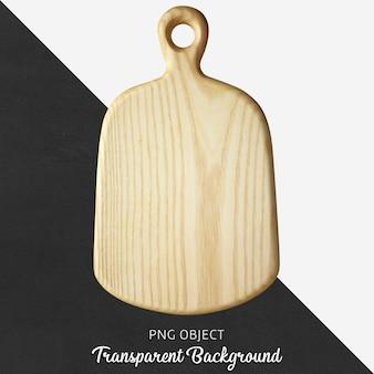 Transparante houten snijplank of serveerplank