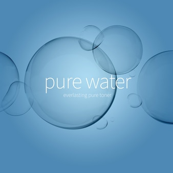 Transparante waterdruppeltjes