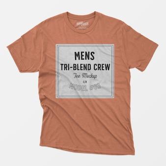 Tri-blend heren tee t-shirt 03