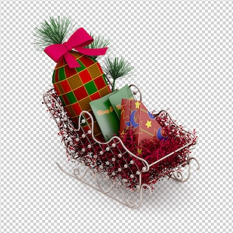 Trineo de navidad