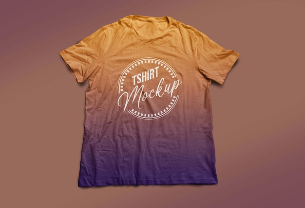 Tshirt mockup ontwerp