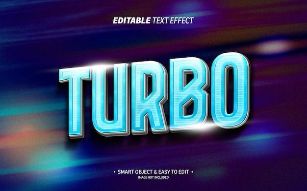 Turbo-teksteffect