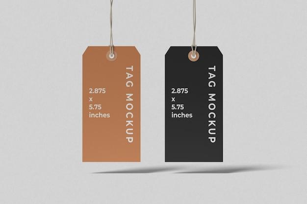Twee drijvende labeltagmodellen