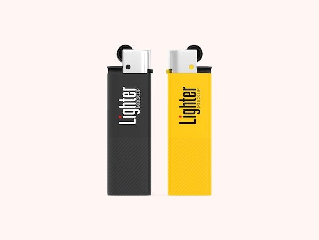 Twee geïsoleerde lichtere mockup