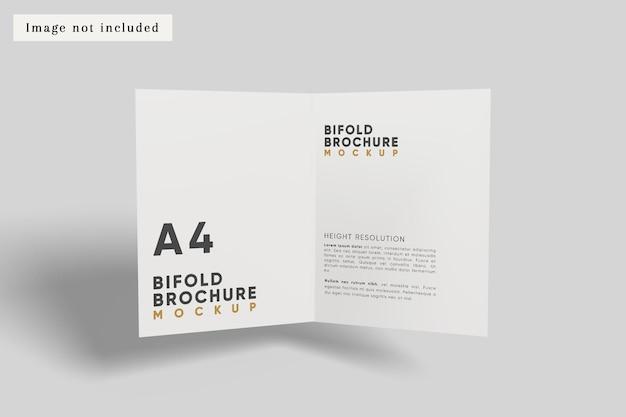 Tweevoudig brochuremodel