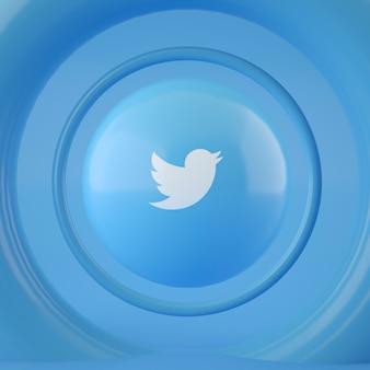 Twitter-logo op bol