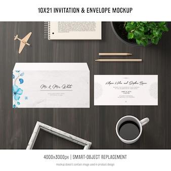 Uitnodiging en envelopmodel