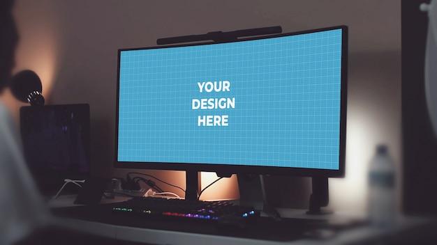 Ultrawide lege monitor