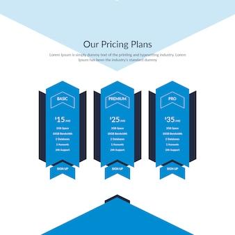 Unieke prijstabel