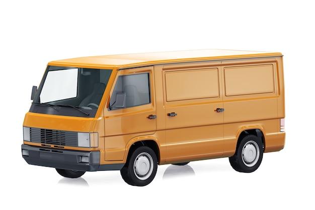 Utility van 1988 mockup