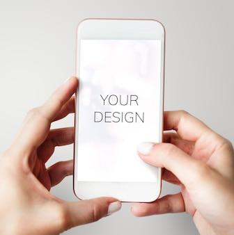 Utilizzando smartphone