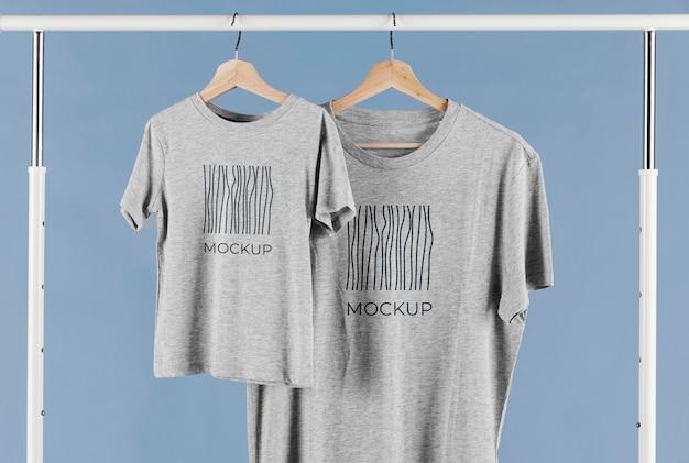 Vaderdag t-shirt mock-up arrangement