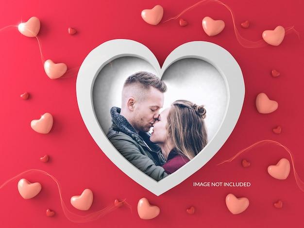 Valentijn frame mockup