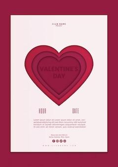 Valentijnsdag cover mockup