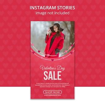 Valentijnsdag instagram-verhalen