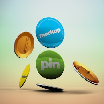 Vallende pin-modellen