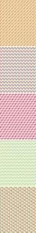 Veelhoek achtergronden kleurrijke naadloze patroon