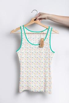 Veelkleurig shirtconceptmodel