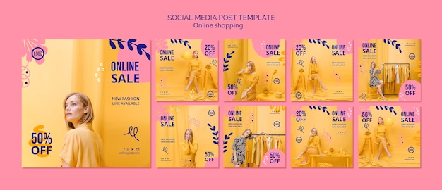 Vendita online di instagram post collection