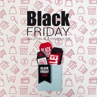 Vendite promozionali del venerdì nero stagionale