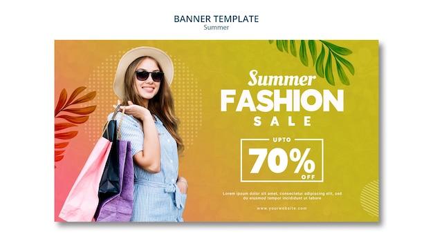 Venta de verano 70% de descuento