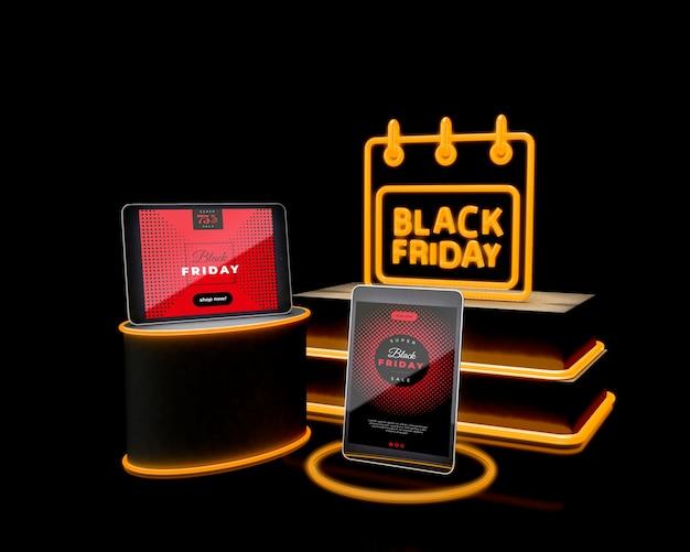 Ventas promocionales en línea el viernes negro