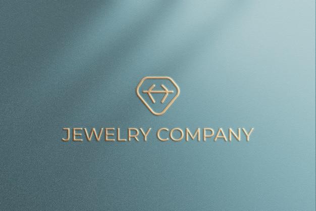 Veranderlijk logo mockup-ontwerp