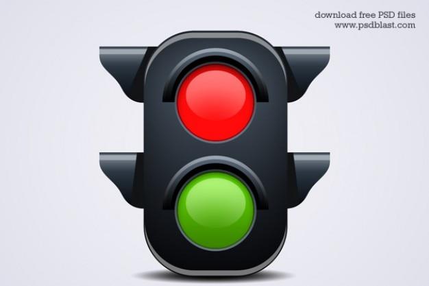 Verkeerslicht icoon psd