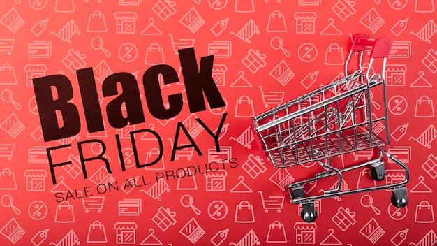 Verkoop beschikbaar op zwarte vrijdag dag