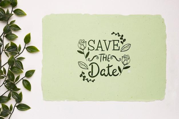 Verlaat en bewaar het datummodel