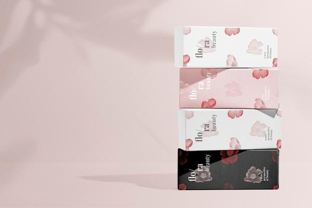 Verpakkend schoonheidsproduct, remix van kunstwerken van zhang ruoai