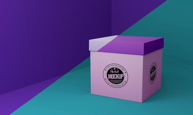 Verpakkingsdoos concept mock-up